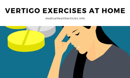 Vertigo Exercises At Home